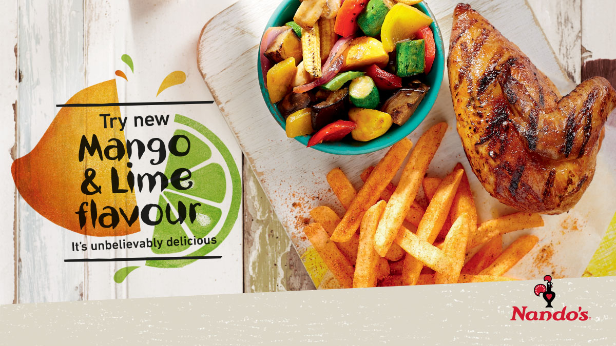 Nando's Adds New Mango & Lime Flavour